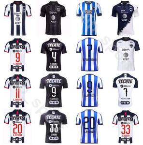 CF Rayados Monterrey 9 Vincent Janssen Jersey Soccer 20 Rodolfo Pizarro 8 PABON 18 HURTADO 15 BASANTA 4 SANCHEZ MEDINA комплекты футбольных рубашек