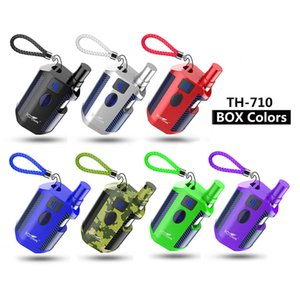 Authentic Kangvape TH710 Starter Kit With 650 mAh Battery TH-710 Box Mod For 0.5ml Thick Oil CE3 K1 Cartridge Atomizer 100% Original