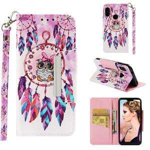 Pu-leder flip case buch brieftasche telefonabdeckung für xiaomi mia2 lite redmi 6 pro