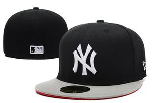 Gute Qualität New York passte Hüte für Mannfrauensport-Hip-Hop-Mannknochensonnenhüte