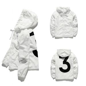 2019 Mens KANYE WEST Jaqueta de Hip Hop Blusão Designer de Moda Jaquetas Homens Mulheres Streetwear Outerwear Casaco de Alta Qualidade Jaqueta