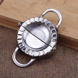 100pcsPastry Werkzeuge des Edelstahl-304 Dumpling Maker wraper Teigschneider Pie Ravioli Dumpling Mold Küchenzubehör