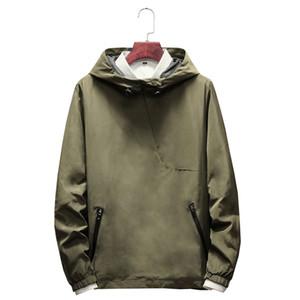 Wetailor nuovo marchio felpa da uomo con cappuccio inverno solido con cappuccio mens hip hop con cappuccio pullover casual tute masculino c19041501