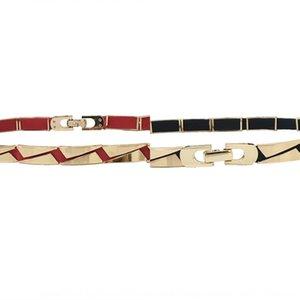 Metal belt waist chain Women's thin all-match women's waist chain sweater dress sweater dress decorative belt with fur