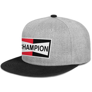 Champion spark plugs Rectangular vector for men and women snap back baseballcap styles team Hip Hopflat brimhats equipped with logo
