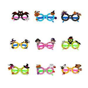 할로윈 안경 큰 재미 유리 할로윈 파티 소품 장식 창조적 인 성격 재미 안경 패러디 장난감 새로운 GGA2685 과장된