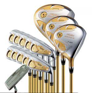 Nuovo Highquality Mazze da golf HONMA S-05 Golf serie completa ferri da golf in legno Putter club Nessun sacchetto R o S Pozzo della grafite di trasporto