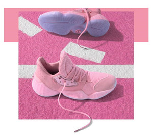 2019 Harden Vol. 4 Pink Lemonade Barbershop Cookies Candy Cream peinture Chaussures de basket-ball Hommes Formateurs James 4s Vol.4 sport Chaussures de sport US 7-12