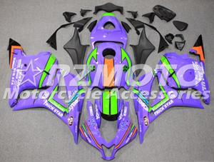 Высокого качество Нового ABS Fairing комплекты приспособленной для HONDA CBR600RR F5 2007 2008 600RR 07 08 обтекателей кузоворемонтного набора пользовательских фиолетового
