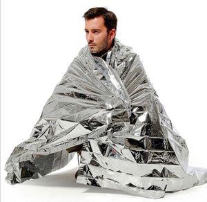 Survie étanche Foil thermique de premiers soins de secours Sauvetage Couverture kits Armée de Couverture des plaques d'isolation de camping en plein air