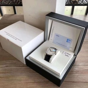Luxury mens brand IWC Mens Watch Box Inner Outer mans Watches Papers Card Wallet Boxes&Cases Men GMT Sub box free shipping