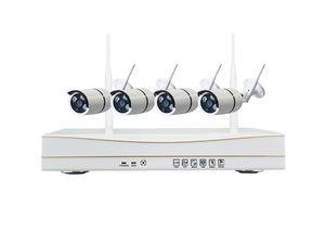 4CH Wireless CCTV sistema 1080P WIFI Kits NVR com 4PCS 2.0MP IR P2P Outdoor Wifi IP câmera Hoem Segurança Kit Sistema de Vigilância