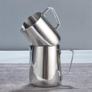 Brocca di schiuma di latte in acciaio inossidabile Caffè espresso Brocca Barista Caffè artigianale Latte Latte Schiuma Brocca Nuovo arrivo 15mg4 L1