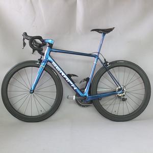 2019 Новый Все внутренние кабельные кадры карбоновые дороги велосипед полный велосипед углерода велосипедный дорожный велосипед с Shimao R8000 22 Speed Groupset