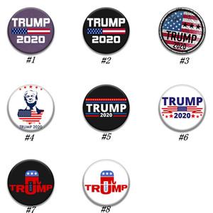Trump Broş 2020 Trump Başkanı Seçim Banner Rozet Amerika Büyük Yine Donald Trump Seçim Kol bandı Rozet Parti ZZA1877 Malzemeleri