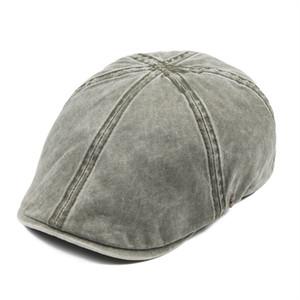 VOBOOM Lavados Boné Cotton Men Newsboy Caps Cabbie Hat Male Ivy Plano Hat Lightweight Gatsby Beret driver Boina 157