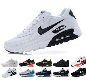 2020 Hava Yastık klasik 90 ultra Erkekler Kadınlar Koşu Ayakkabı Nefes Max 90s Siyah Casual Sport Spor Antrenörü Spor ayakkabılar Yüzey
