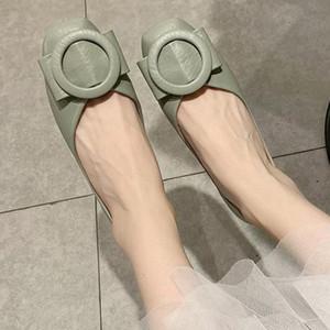 Flats deslizamento Casual novas bailarina arco Calçados Femininos no dedo do pé Loafers Praça mulher dirigindo sapatos da moda Boat Calçado Zapatos Mujer