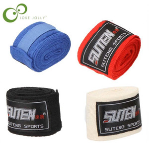 1 Pcs Gant De Boxe Coton Sport Boxe Bandage Muay Thai Mma Taekwondo Main Gants Wraps Protection Hommes
