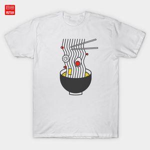 Top Ramen T-shirt Refeições saboroso delicioso Foodtalk Japonês Chinês Japão Noodles Ramen Noodles