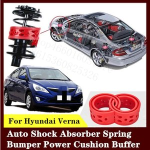 For Hyundai Verna 2pcs High-quality Front or Rear Car Shock Absorber Spring Bumper Power Auto-buffer Car Cushion Urethane