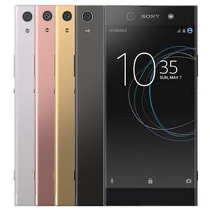 Восстановленный оригинальный Sony Xperia XA1 Ultra G3221 G3226 6.0 дюймов Octa Core 4GB RAM 32 / 64GB ROM 23MP разблокирован 4G LTE Android смартфон 1 шт.