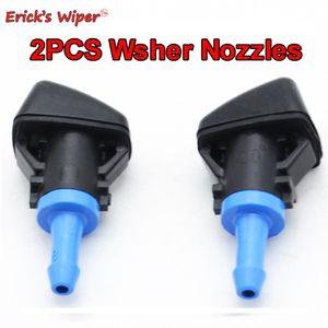 Очистители ветрового стекла Erick в Wiper 2Pcs Передний стеклоочиститель Стиральная машина форсунка для Jeep Patriot Compass 2009 2010 2008 2011 2012 2013 2014