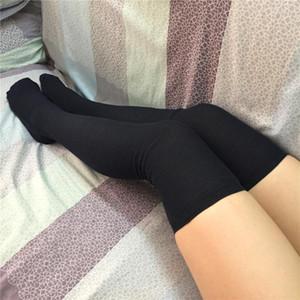 Cheap vendita calda donne sexy lady sopra il ginocchio di spessore coscia Highs Hose Calze Twist Caldo Inverno caldo a strisce stoccaggio