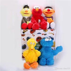 شارع السمسم كوس 5 نماذج القطيفة ELMO / BIG BIRD / ERNIE / MONSTER محشوة أفضل نوعية العظمى هدايا للأطفال