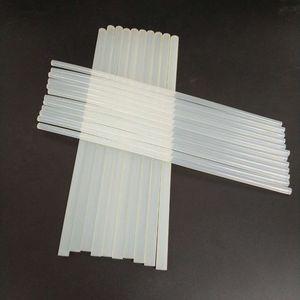 7 mm * 100mm 11mm * 300mm 10 boyutları Hot Melt Tabancası Tutkal En Tutkal Guns ile uyumlu tutkal tabancası için plastik şeffaf Sticks Sticks