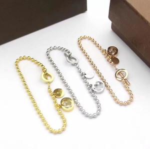 luxury designer jewelry women bracelets V brand ladies classic charm bracelet braccialetto gûccì bangle Pulseira de luxo