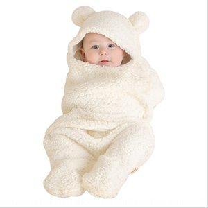 Baby Warm Sleeping bag sleeping bag newborn split-leg warm swaddling quilt