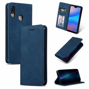 Funda lite para Huawei P30 Funda Cool Cool Slim Slim Funda de cuero original para Huawei P30 Lite / Nova 4E