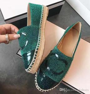2019 mocassins en cuir Fisher Espadrilles chaussures femmes taille 35-41 nous taille us5-US8 2019 dame de la mode Chaussures Casual avec la boîte