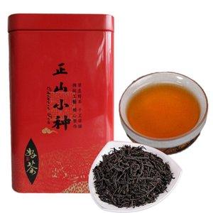 Thé noir chinois Étamées supérieure Lapsang Souchong Thé cadeau Paquet bio Lapsang Souchong Thé Rouge Green Food