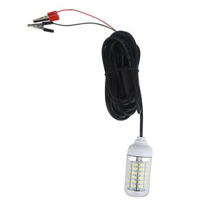 12V 108 LEDs 900 Lumens IP67 LED Underwater Submersible Night Fishing Light Crappie Shad Squid Boat Fishing Light