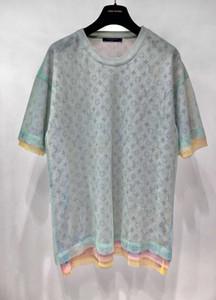 20SS Париж топ-версия евро размер рубашки Повседневный Street Fashion Карманы Теплые рубашки Мужчины Женщины