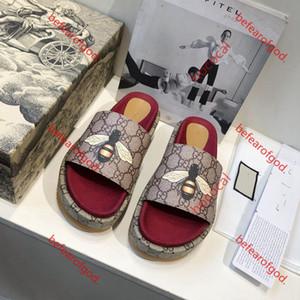 slippers os zapatos del diseñador de moda de lujo deslizamiento verano inferiores sandalias inferiores gruesas hococal amplia planas de los deslizadores el envío libre