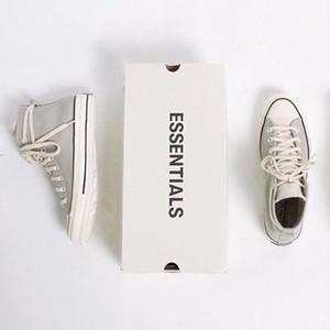 2019 Hot Vente La peur de Dieu ESSENTIEL x Chuck 10s Ce que la qualité chaussures de sport classique blanc noir toile Top Mode Chaussures Casual 35-44