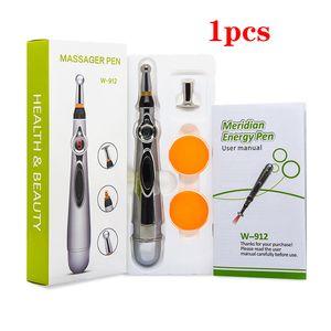 الإلكترونية الجديدة الوخز بالإبر القلم لتخفيف الآلام العلاج القلم الآمن ميريديان الطاقة شفاء تدليك الجسم رئيس الرقبة الساق الصحة Massageadores