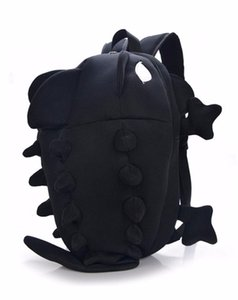 Wholesale- Dinosaur Backpack for Women and Men Cartoon Personality Kawaii Monster Backpack for School Students Cute School bags Travel Bag