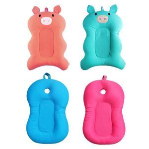 Baby Shower Vasche Portable Air Cushion bambini letto per bambini Bagno antiscivolo vasca da bagno di schiuma
