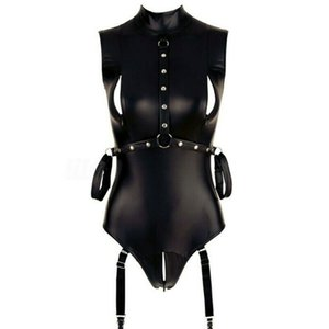 New Sexy Women Wet Look Lingerie PVC Leather Latex Bodycon Mini Dress 2020