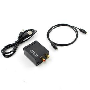 20pcs DAC Digital-Analog-Audio Converter Optical zu RCA Coaxial SPDIF Toslink auf 3,5 mm analogen RCA-Adapter