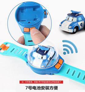 어린 소년 (11) 미니 원격 제어 시계 RC 자동차 장난감 모델 어린이 투석기 진동 자동차 교육 장난감 어린이 날