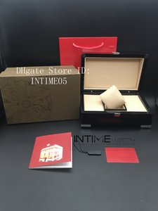 La meilleure qualité Top luxe PP montre originale Boîte Papiers Carte Bois Sac rouge Coffret cadeau pour PP Nautilus Aquanaut orologio di lusso Montres Case
