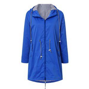 Winter Waterproof Zip Pockets Outdoor Jackets Basic Sunscreen Thin Coat Keep Warm Zipper Casual Collar Hooded Coat