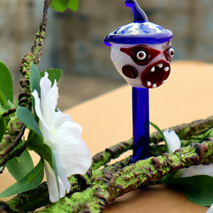 "Китай зомби стекла табака трубы стекла ручной трубы табака ложка трубы вампира табака трубы душераздирающий 5.5i ""NCH"