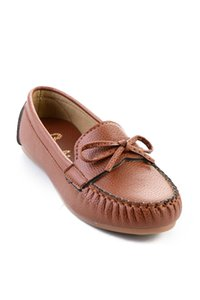 Bambi Tan Mulheres Loafer Shoes H0542005009