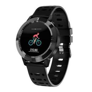 Heart Rate Monitor CF58 relógio inteligente Homens IP67 Waterproof vidro temperado Atividade de Fitness Rastreador Homens Sports e Smart Bracelet